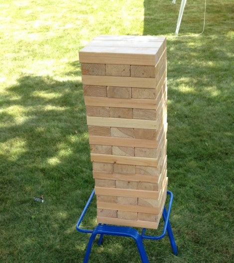 Larger than life Jenga