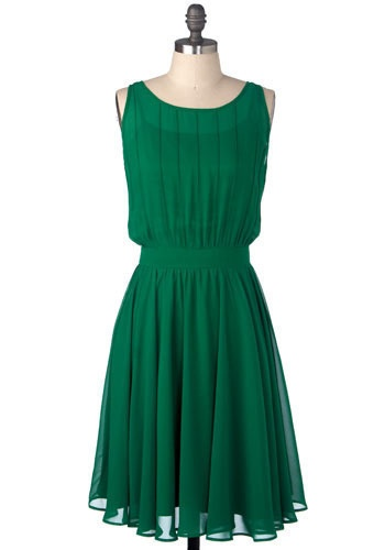 Emerald-2013-Pantone-Color-of-the-Year-Bridesmaid-Dress