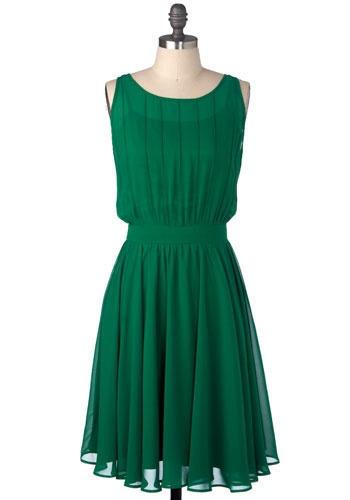 Emerald-2013-Pantone-Color-of-the-Year-Bridesmaid-Dress