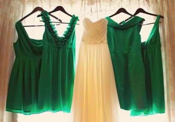 mismatched-emerald-green-dresses-4