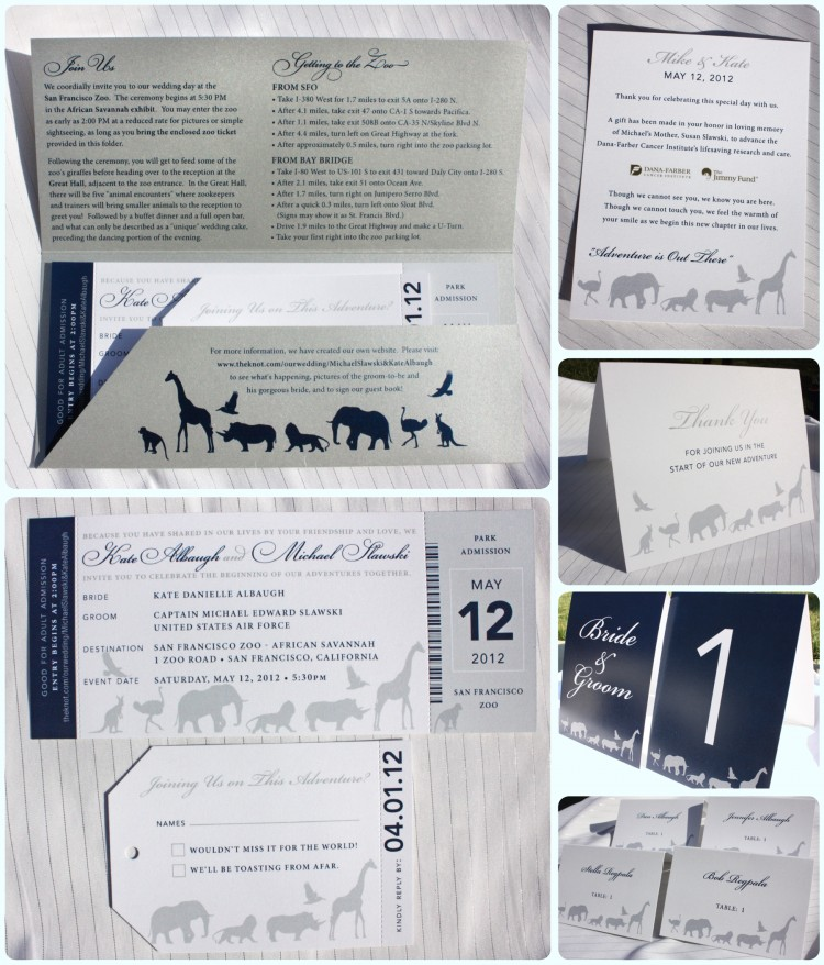 Metallic-Silver-Navy-Blue-Gray-Zoo-Ticket-Wedding-Invitations-Table-Numbers-Escort-Cards-Thank-You-Cards-e1339758983386