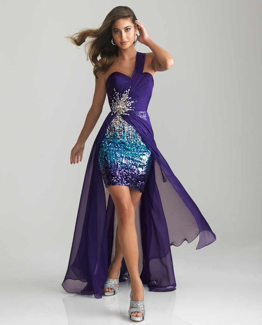 purple-sequin-ruched-chiffon-sweetheart-one-shoulder-prom-dress